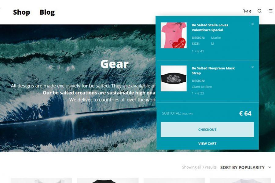 Webshop für designverliebte Wassersportfans