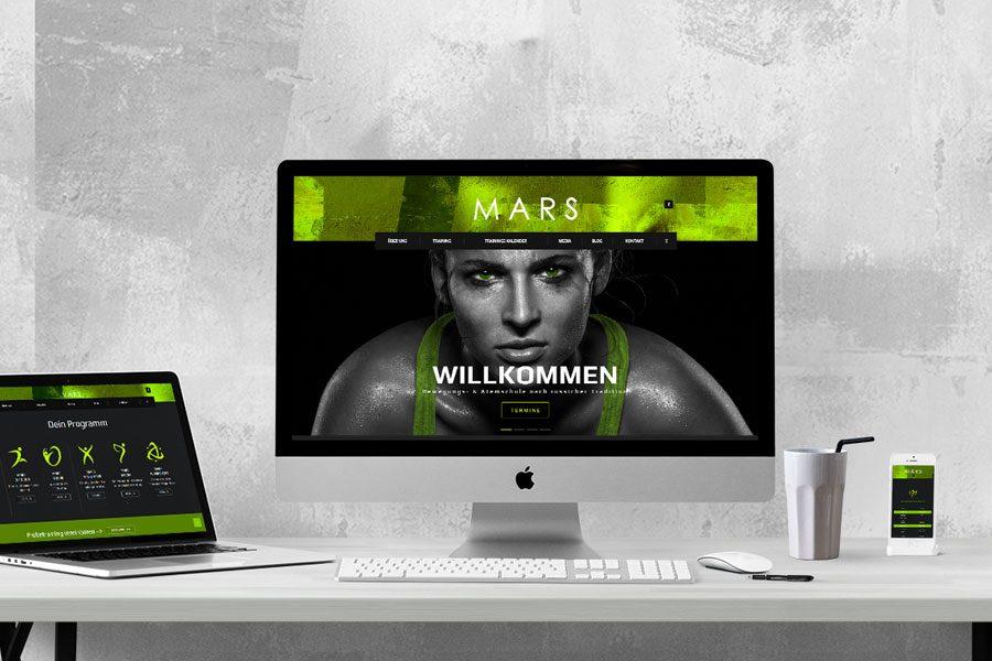 Startpaket & Website für MARS Training