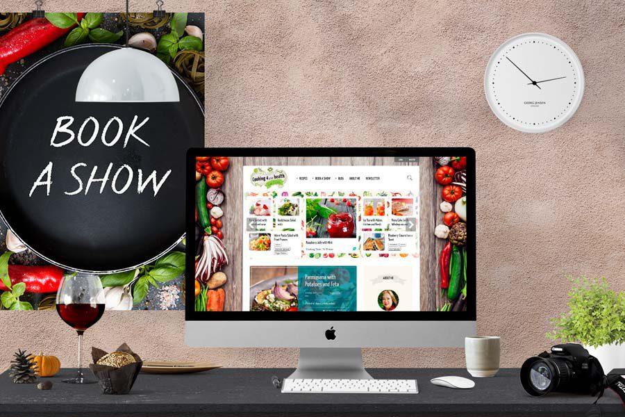 Cook, Blog & Book