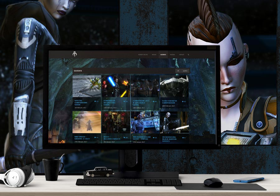 Gaming Community Website
