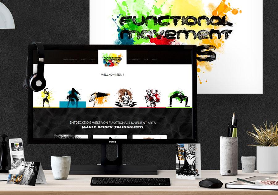 Functional Movement Webdesign