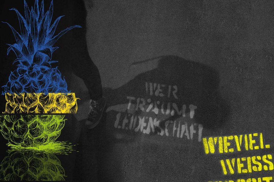 Sommerkampagne – Guerilla Stencils mit Ananas