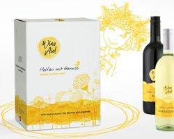 WineAid Packungsdesign